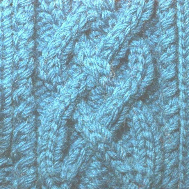 pletenje pogrešne križane petlje