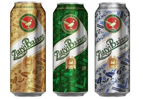 pivo Zlatý Zlatni fazan