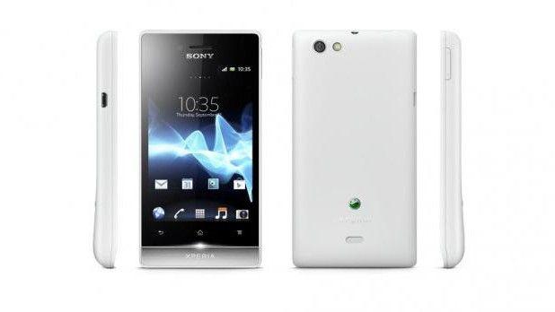 Смартфон Sony Xperia Miro: отзывы и характеристики