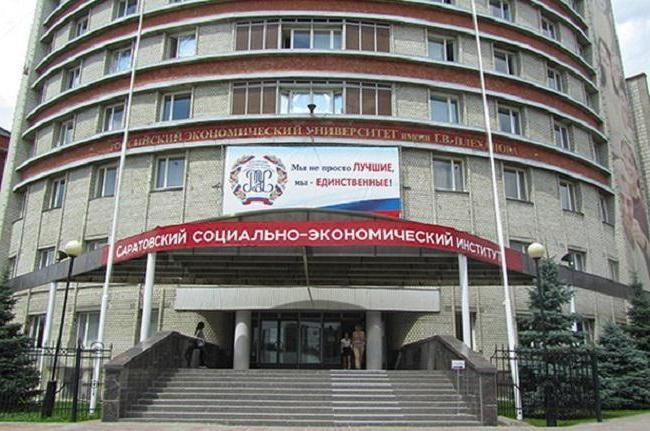socioekonomski institut Saratov