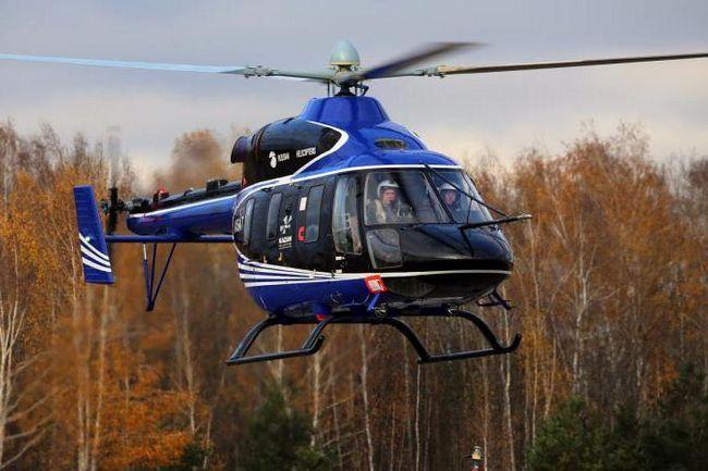 Sanitarni helikopter Ministarstva za izvanredne situacije