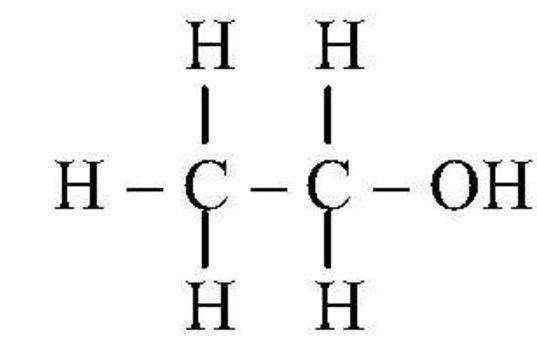 Kemijska formula etilnog alkohola