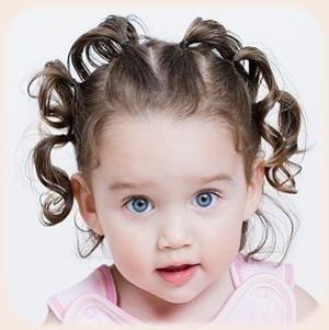 frizure za djevojčice na srednjoj kosi