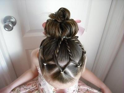 frizure za djevojčice 2013