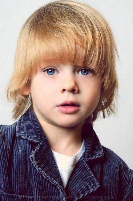 stilski frizure za dječake