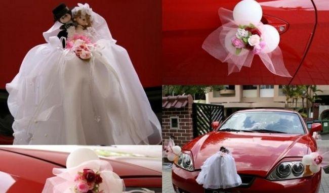 auto ukrase za vjenčanje vlastitim rukama