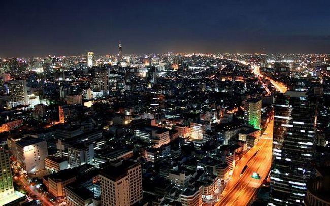 Glavni grad Tajlanda Bangkok je vrata jugoistočne Azije