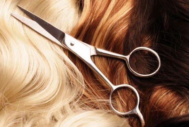 nego dobra frizura s vrućim škarama