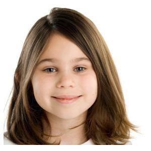 frizure na srednjoj kosi na adolescentnim djevojkama
