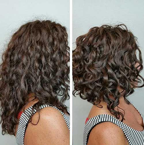 frizuru na kovrčavu kosu