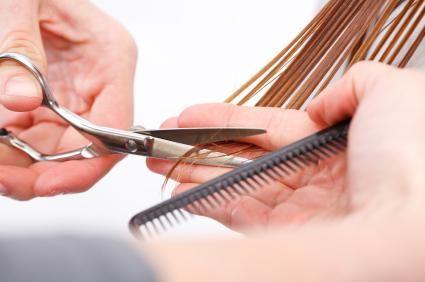 структура волоса на голове