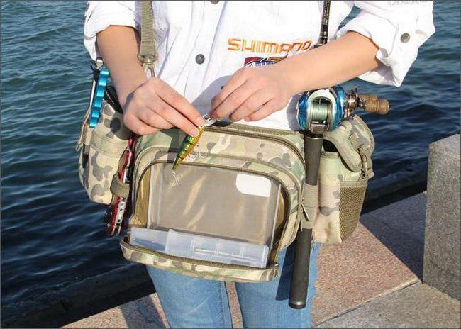 vreća za pojas za ribolov