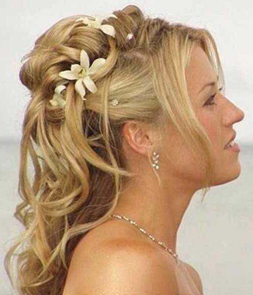 Vjenčana frizura za dugu kosu