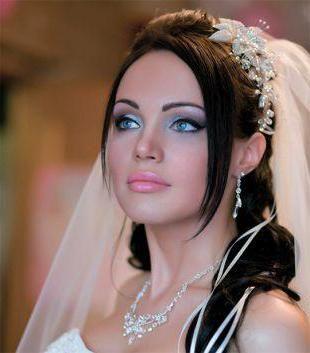 vjenčanje šminka za smeđe oči brinete korak po korak