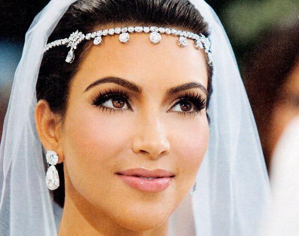 vjenčanje šminka za smeđe oči