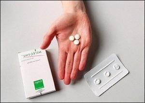abortus tableta
