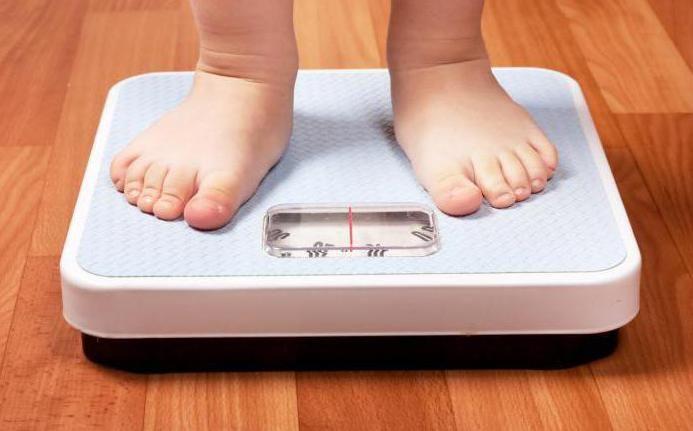 Tablica težine djece