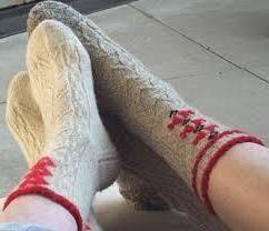 Topla vunena čarapa