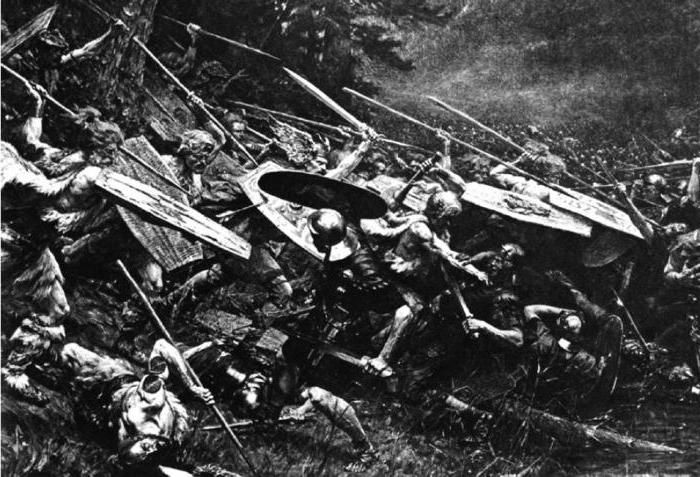 Šuma u Teutoburgu porazila je Nijemce rimskim legijama
