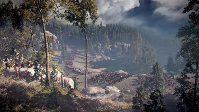 borbu u šumi u Teutoburgu