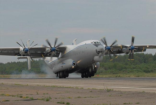 Prijevoz zrakoplova An-22