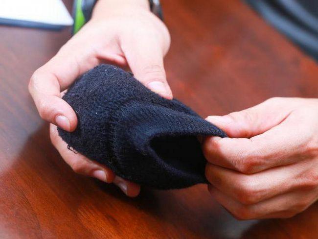 savijamo čarape ispravno