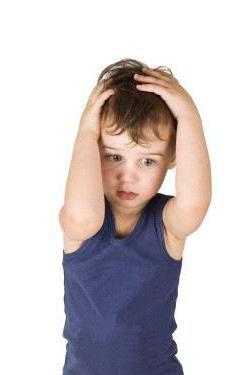 dijete ima gubitak kose