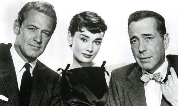 William Holden i Audrey Hepburn