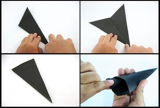 Naučimo kako napraviti šurikene iz papira