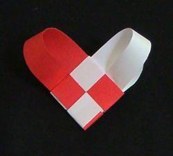 Валентинка (оригами) своими руками: схема и описание