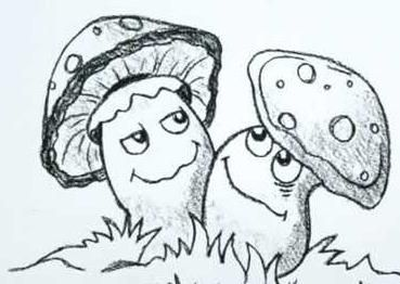 kako privući gljive