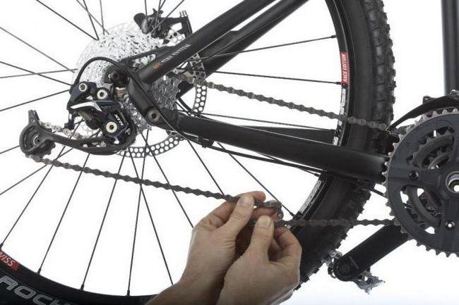 Napetost lanca bicikla
