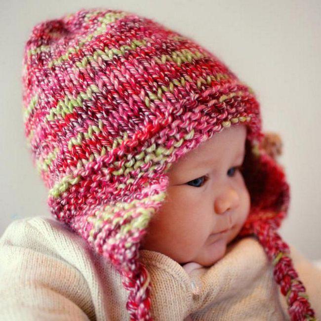 pletenje za djecu od 0 do 3 godine sa opisom kapa za žbice