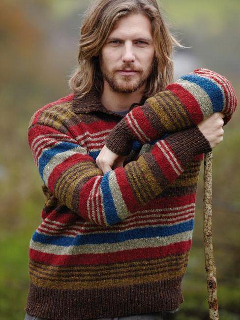 pletenje za muške jakne