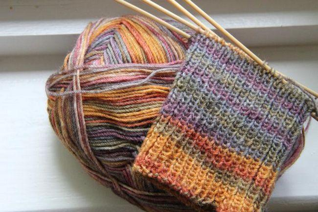 pletenje za početnike čarape kući