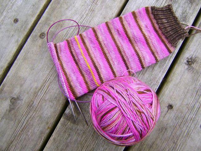 čarape za pletenje za početnike