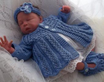 Pletenje za novorođenče