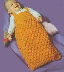 Pletenje novorođenčadi s iglom za pletenje