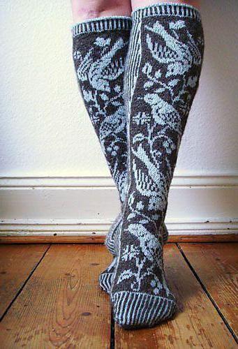 pleteni uzorci za čarape s uzorcima