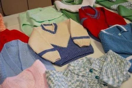 pletena odjeća za bebe