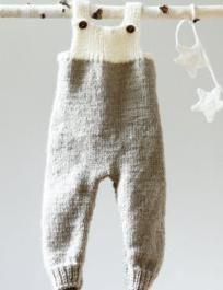 Vezati pokrivač za novorođenče s iglama za pletenje