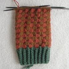 Pletenice s iglom za pletenje