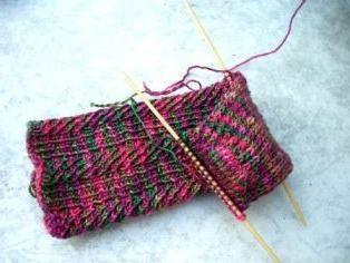 Gajnice se vežu s iglama za pletenje