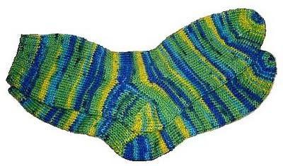 plesti čarape s iglom za pletenje