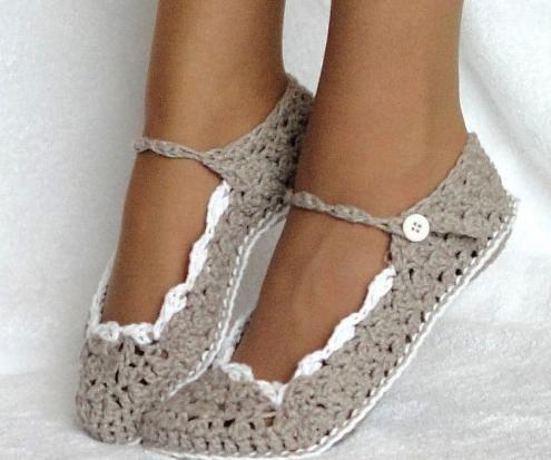 papuče za pletenje