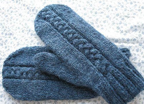pleteni plišni pleteni igličasti uzorci