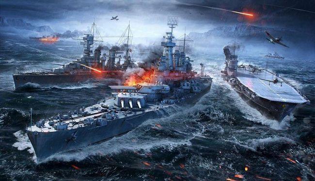 svijet ratnih brodova