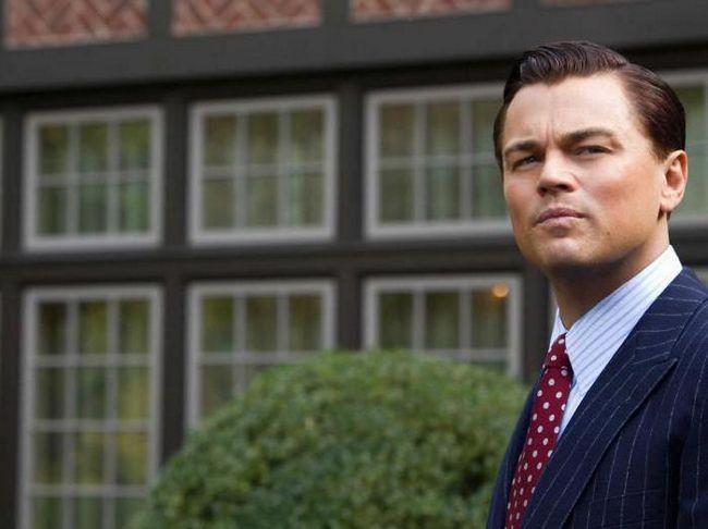 Vuk s glumcima na Wall Streetu