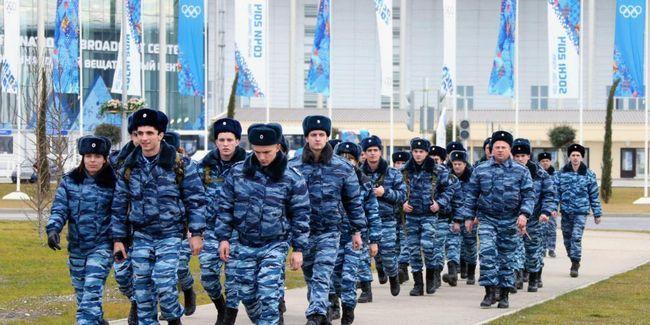 Ruska policija u Sočiju