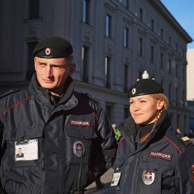 policija u Rusiji